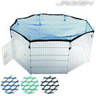 Guinea Pig Rabbit Playpen Run Enclosure Net Cover Pet Animal Cage Fence Garden
