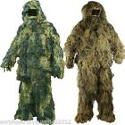 ARMY GHILLIE SUIT OUTFIT JACKET TROUSERS HAT RIFLE WRAP DPM DESERT SNIPER SAS