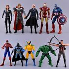 10pcs Marvel The Avenger Titan Super Hero Batman Figure Action Kid Toy Gifts