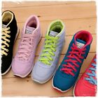 BN Women Hi Top Lace Up Fashion Canvas Sneakers Casual Sports Walking Shoes