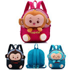 2015 Kids Boy Girls Animal Backpack Monkey School Bag Rucksack Children Backpack