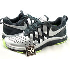 NEW 9.5 Nike Free TRAINER 5.0 SUPER BOWL 2014 Limited Ed Silver Volt 654246 007 $119.99 USD