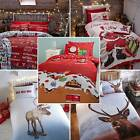 Christmas Duvet Sets - Reindeer, Stag, Retro, Xmas Slogan or Santa's Presents