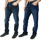 Mens Designer Mish Mash Jeans Regular Fit Straight Leg Five Pocket Classic Denim