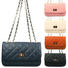 Women Ladies Handbag Shoulder Bag Satchel Purse Faux Leather Celebrity Style Bag
