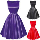 CHEAP Vintage Swing 50s 60s Pinup Rockabilly DANCE EVENING PARTY Plus Size Dress