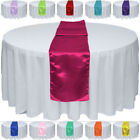 """1/5/10/20pcs 12"""" x 108"""" Satin Table Runner Wedding Party Banquet Decorations фото"""
