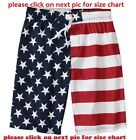 Faded Glory Men's USA American Flag Board Shorts Swim Trunks SMLXL2XL3XL4XL5XL