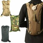 3L Hydration Backpack Tactical Water Bag Hiking Pack H20 Pouch Multiple Colors