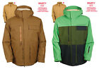 686 Snowboard Jacket - Authentic Smarty Form - Brown, Green, Pincord, Ski - 2016
