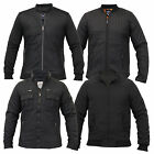 Mens Jacket Brave Soul Coat Padded Quilted Funnel Neck Casual Zip Lined Winter