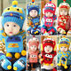 Winter Warm  Boys Girls Crochet Hat Scarf set Toddler Infant Baby Beanie Cap B9