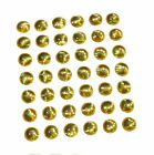 4mm 3D GOLD CRYSTAL Holographic Fishing Lure Eyes Fly Tying Replacment Eyes