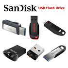 SanDisk Cruzer Ultra Fit Flair Blade USB 3.0 Flash Drive Memory 128GB 64GB 32GB