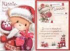 To A Very Special Nannie Christmas Card -Lovely Verse - Various Designs