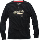 100% Adult 2016 The Barstow Long Sleeve Shirt Black M-2XL