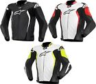 Alpinestars GP Tech Leather Motorcycle Riding Jacket Mens All Sizes All Colors