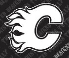 Calgary Flames car truck vinyl decal sticker NHL Hockey $5.99 USD on eBay