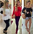 Sexy Fashion Women Vest Shirt Long Sleeve Blouse Casual Tank Top T-Shirt
