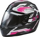 Z1R Jimmy Retro 2 White/Black Helmet Adult XS-3XL