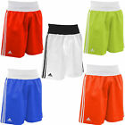 NEW ADIDAS MENS SPORTS LIGHTWEIGHT TRAINING MARTIAL ARTS BOXING SHORTS 5 COLOR