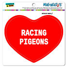 MAG-NEATO'S™ Car Refrigerator Vinyl Magnet I Love Heart Sports Hobbies R-S