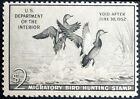 Scott #RW18 - Federal Duck - Gray Black - Mint Never Hinged - 1952