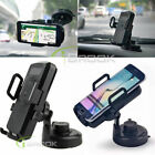 Wireless Car Air Vent + Suction Cup Charger Mount Holder For Samsung Note 5 / S6