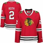 Chicago Blackhawks Womens Duncan Keith 2 Premier Stitched Jersey 10768