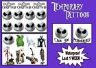 NIGHTMARE BEFORE XMAS TATTOOS canb PERSONALISED LAST1WEEK+ tattoo loot bag party