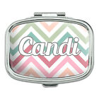Rectangle Pill Case Trinket Gift Box Names Female Cad-Car