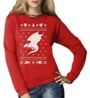 Big White Dragon Ugly Christmas Sweater Xmas Gift Women Sweatshirt Gift Idea