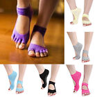 Utmost Healthy 1Pair Yoga Pilates Sports Socks Half Toe Ankle Grip Five Finger