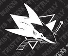 San Jose Sharks car truck vinyl decal sticker NHL Hockey Sanjose $5.99 USD on eBay
