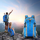 50L Backpack Waterproof Camping Hiking Traveling Hunting Bag with Rain Cover