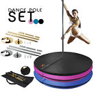 Portable Fitness Exercise Professional Dance Spinning Pole 45mm Set or Mat / Bag image