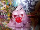 vintage hippo dragon wax candle