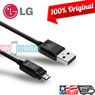 Original LG G4 Data Cable 1.8A 4FT Micro USB Data Sync Fast Charger Cord Cable