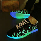 New Flashing  Low-cut LED Light Luminous Unisex Sportswear Shoes Casual Shoes
