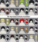 Kyпить LEGO - MALE Hair Pieces - PICK COLORS & STYLE - Minifigure Wigs Hat Cap Town Cty на еВаy.соm
