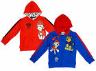 Boys Official Paw Patrol Chase Marshall Zip Hoody Sweat Jacket 2 to 8 Years