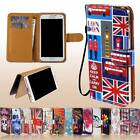 New Flip Wallet Card Stand Leather Case Cover For Various MLS iQTalk SmartPhones