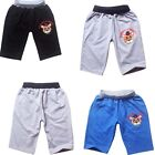 Children Kids Boy Cotton Casual Five Nights at Freddys Shorts Pants Sweatpants