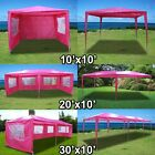 New Deluxe Pink Outdoor Party Wedding Tent Gazebo Events Pavilion-choose