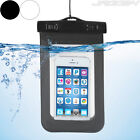 Mobile Smartphone Case Cover Waterproof Choice of Colour Transparent Window New