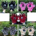Halloween Costume Party Monster Cosplay Bear Hand Paw Gloves Adult Size ONE PAIR