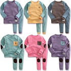 "Vaenait Baby Toddler Kids Girls Boys Clothes Pajama Set ""Simple set"" 12M-7T"
