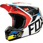 FOX V2 RACE MX/MOTORCROSS HELMET BLACK/RED - 2015 MODEL RUNOUT SPECIAL!!!