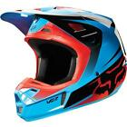 FOX V2 IMPERIAL MX/MOTORCROSS HELMET BLUE - 2015 MODEL RUNOUT SPECIAL!!!