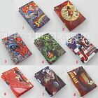 Super Hero PU Synthetic Leather Short Purse Trifold Wallet